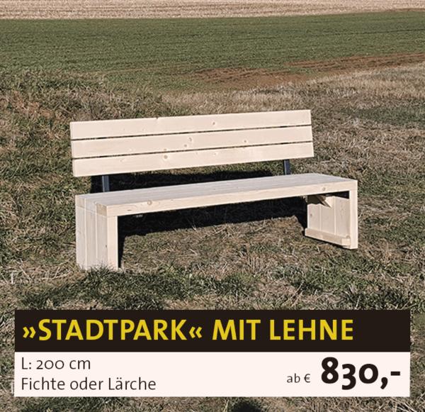 Stadtpark Lehne