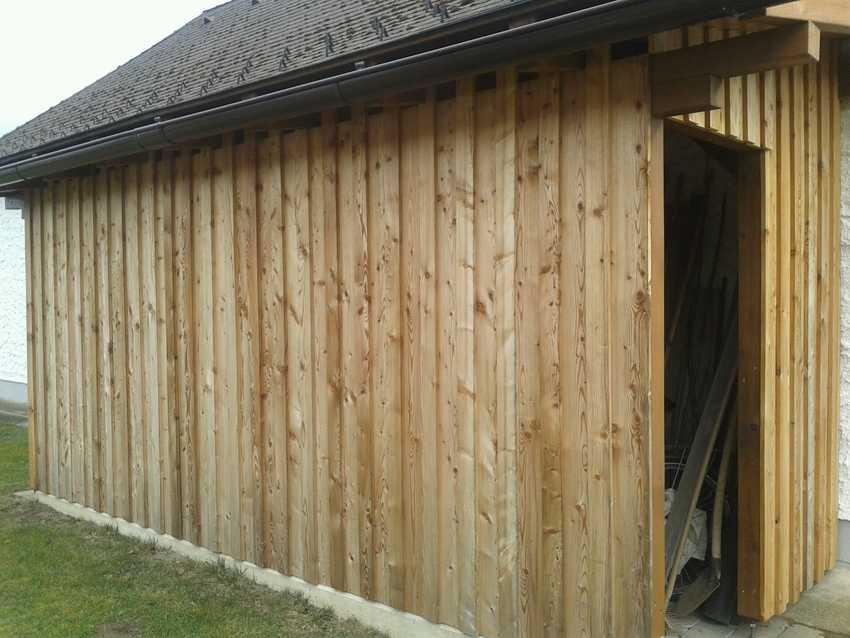 Holz Anbau