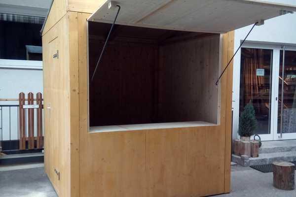 Mobile Holzhütte