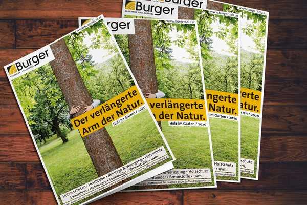 Der neue Burger Holz im Garten Katalog ist da!