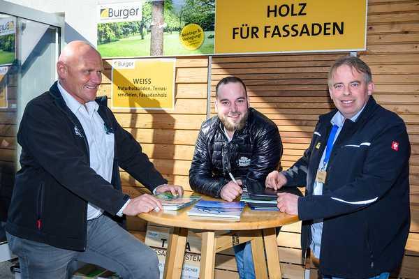 Burger Holz Mitarbeiter