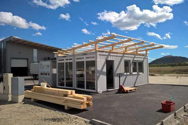 Dach für Container