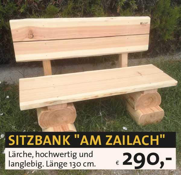 Sitzbank Holz rustikal