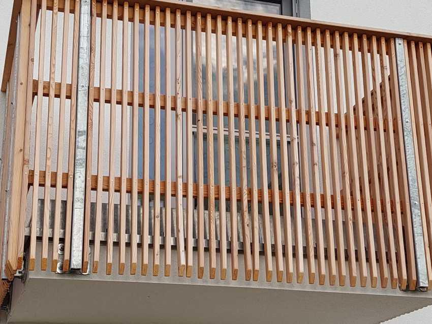 Holz Balkon