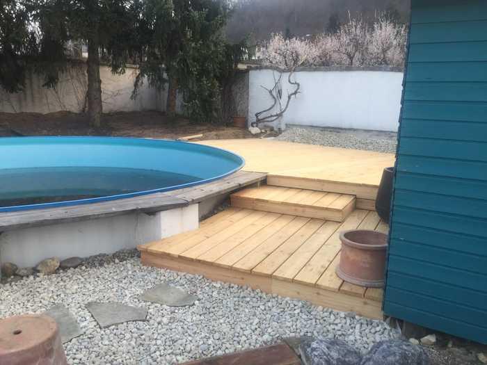 Neugestaltung Schwimmbadbereich