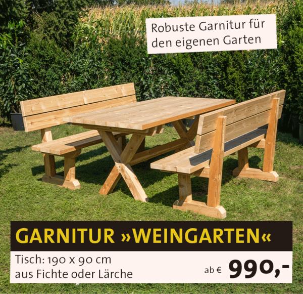 Garnitur Weingarten
