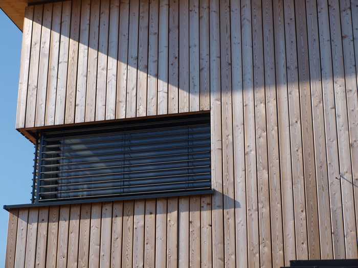 Holzfassade sibirische Lärche