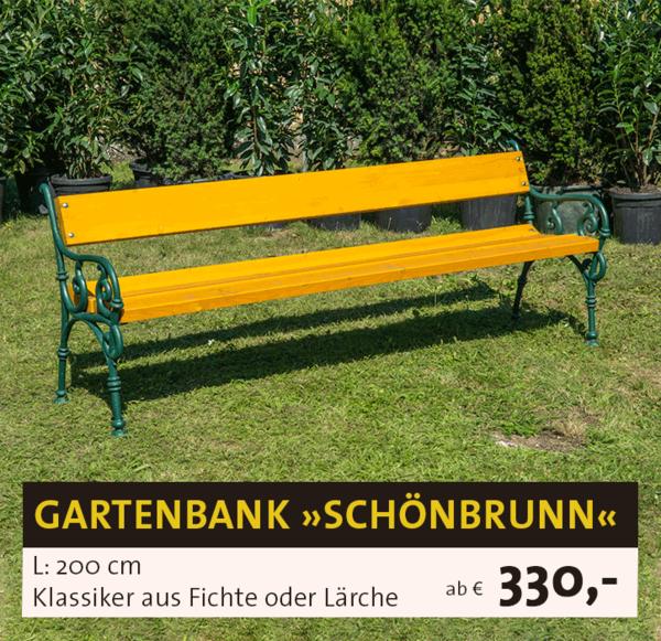 Sitzbank Schönbrunn