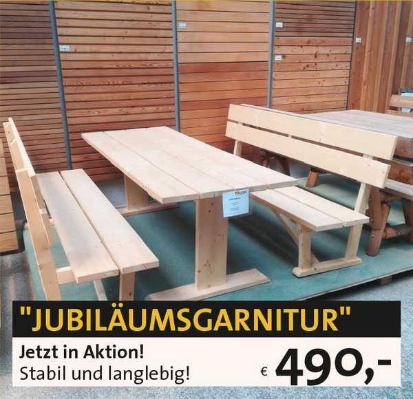 Holz Sitzgarnitur