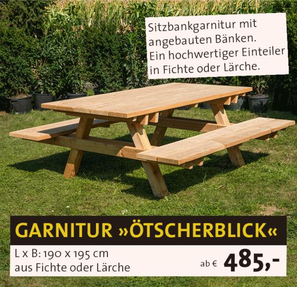 Sitzgarnitur Ötscherblick