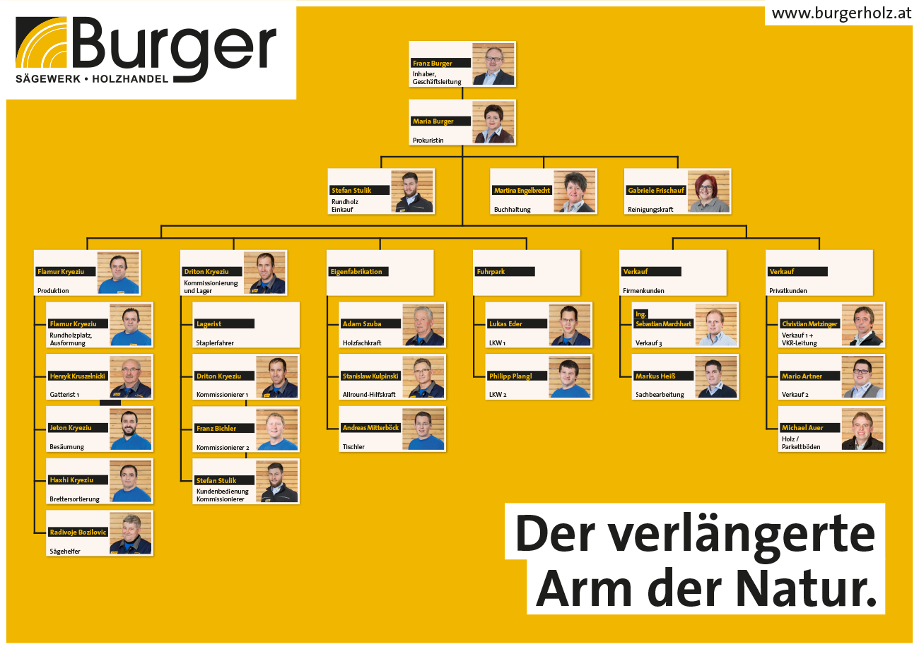 Burger Organigramm