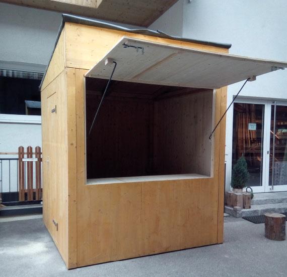 Holzhütte zu vermieten